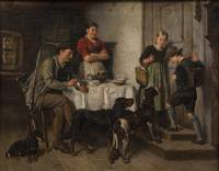ADOLF EBERLE, FAMILY OF A BAVARIAN HUNTER
