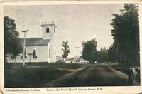 c1910 View of Old North Church, Canaan St. Canaan