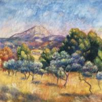 """""""Montagne Sainte-Victoire by Renoir"""" by FineArtClassics"""