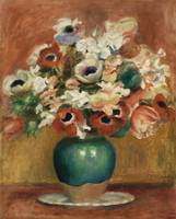 Flowers (1885) by Pierre-Auguste Renoir