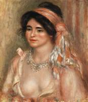 Woman with Black Hair by Renoir