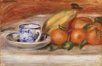 Oranges, Bananas, and Teacup by Renoir