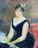 Madame Léon Clapisson by Renoir