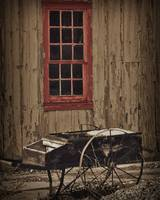 Hay Cart by Kirt Tisdale