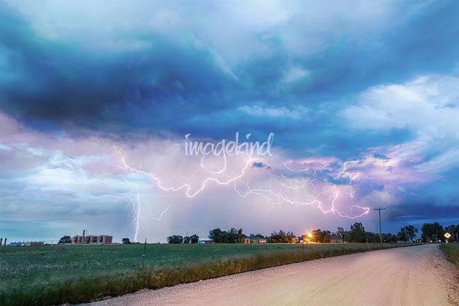 Rural Electrifying Skies