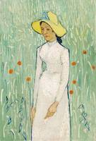 Girl in White (1890) by Vincent Van Gogh