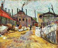 The Factory (1887) by Vincent Van Gogh