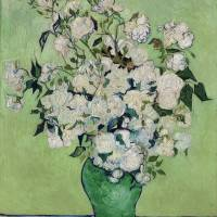 """""""Roses by Vincent Van Gogh"""" by FineArtClassics"""