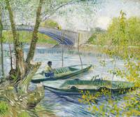 Fishing in Spring by Vincent Van Gogh