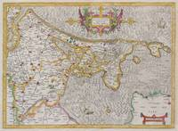 Map of Holland (Netherlands) by Mercator