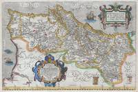 Map of Portugal 1579 Ortelius