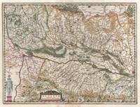 Map of Alsace (Basel and Strasbourg)1644 Jansson