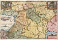 Map of the Holy Land 1657 Visscher