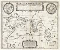 Map of the Indian Ocean 1658 Jansson