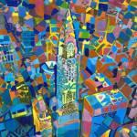 New York Confetti - The Chrysler Building by RD Riccoboni