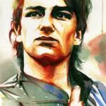 Young Bono Loose Prints & Posters