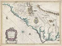 Map of Carolina 1676 Speed