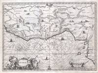 Map of West Africa 1670 Ogilby