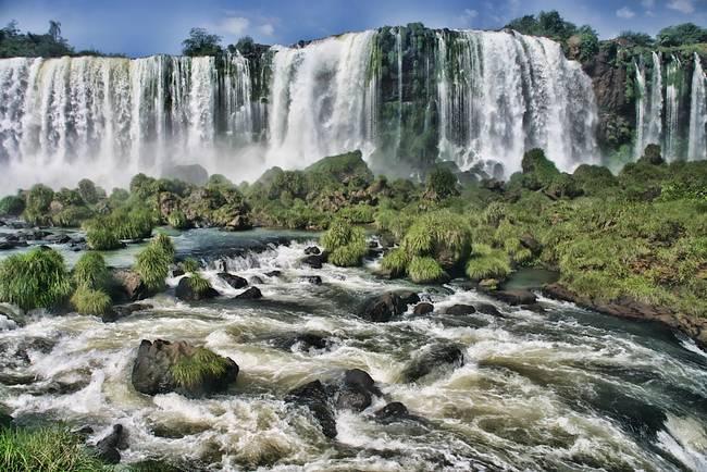 Thunderous Falls