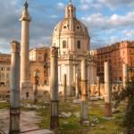 Roman Ruins by Kim Wilson