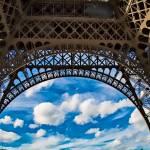 Under the Eiffel Tower by Kim Wilson