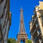 Eiffel Tower Street View by Kim Wilson