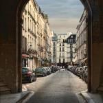 Paris Street by Kim Wilson
