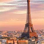 Eiffel Tower at Sunset by Kim Wilson