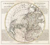 Map of the Northern Hemisphere 1741 Covens-Mortier