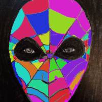 COLORFULL WEB MASK by siniša (sine) berstovšek (sinonim)