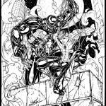 spider-man vs venom Prints & Posters
