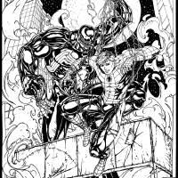 spider-man vs venom Art Prints & Posters by Dmitry Momot