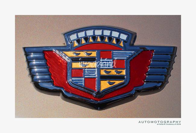 Vintage Cadillac Emblem