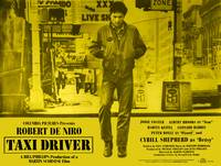 Taxi Driver 1976 - Yellow Poster