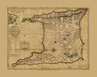 Map of the Isle of Trinidad (1797)