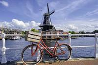 Dutch Essentials Bicycle and a Windmill