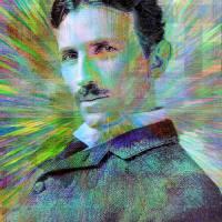 Electric Tesla Art Prints & Posters by Jon Woodhams