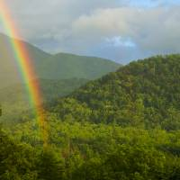 Smoky Mountain Rainbow Art Prints & Posters by Larry Bohlin