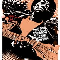 Playing the Blues Art Prints & Posters by Jesus James Ruiz