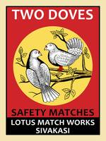 The Two Doves Safety Matches