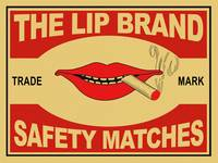 The Lip Brand Safety Matches