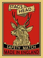 The Vintage Stags Head Matches