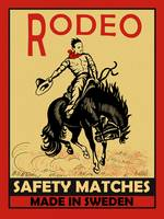 The Vintage Rodeo Safety Matches