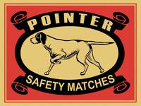 The Vintage Pointer Safety Match