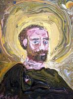 Marbled Self Portraite