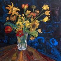 """August Blooms"" by jonbyrerart"