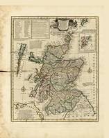 Map of Scotland by Emanuel Bowen (1752)