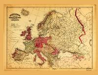 Topographical Map of Europe (1871)