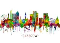 Glasgow Scotland Skyline