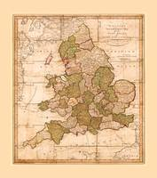 Map of England and Wales (1810)